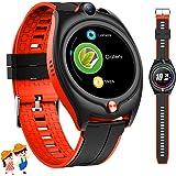 4G Smartwatch Voor Kinderen,GPS Smart Horloge Telefoon met Waterdichte Real Time Positie WIFI Video-oproep Bericht Stappentel