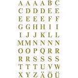 AVERY Zweckform 3727 letteretiketten (A-Z 7,5 mm, folie, sterke grip) 120 stickers