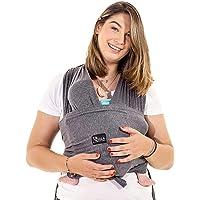 Fascia porta bambino facile da indossare (easy on), regolabile unisex - Marsupio neonati multiuso adatto fino a 10kg…