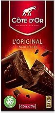 Cote d'Or Noir Puur Chocolate Bar, 200g
