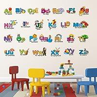Wallstick 'Creative Alphabets' Wall Sticker (Vinyl, 49 cm x 4 cm x 4 cm)