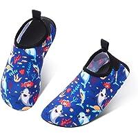 SOSPIRO Scarpe da Acqua Bambini Scarpe da Mare Bambino Ragazze Ragazzi Antiscivolo ad Asciugatura Rapida Scarpe a Piedi…