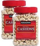 FarmOwn Whole Cashew Nut W320 Regular Size Cashews Kaju 1Kg