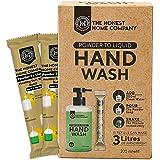 The Honest Home Company - Powder To Liquid Hand Wash -15 Refills,(200 ml per Reffil)
