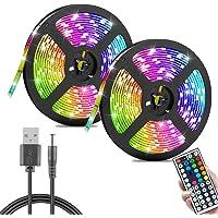 harupink 1/3/5/10/15/20M Striscia LED, 60LEDs/M SMD RGB Striscia di Illuminazione Che Cambia Colore con Telecomando a 44…