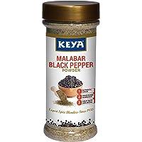 Keya Malabar Black Pepper Powder   Exotic Spices Blend 100 gm x 1