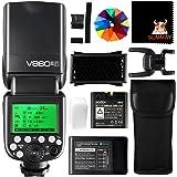 Godox V860II-F High Speed Sync 1 / 8000S GN60 2.4G TTL Li-on Batería Cámara Flash Speedlite para Fujifilm Cámara X-Pro2 X-T20