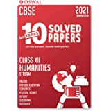 10 Last Years Solved Papers Humanities Stream : CBSE Class 12 for March 2021 Examination