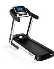 Powermax Fitness TDM-150 (2.5 HP), Smart Run Function, Auto Lubrication, Motorized Treadmill for Cardio Workout