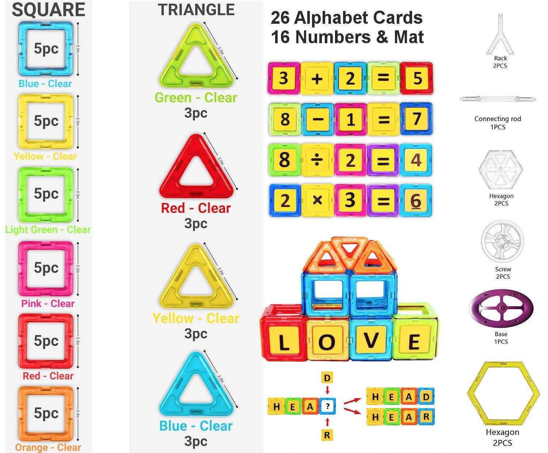 Desire Deluxe Magnetic Building Blocks Gift 94PC Kids ...