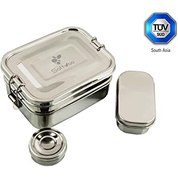 The Original Elephant Box Stainless Steel Lunchbox Big Enough For