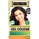 INDUS VALLEY Herbal, Ammonia Free, PPD Free Natural Hair Color Dark Brown 3.0 (One Touch Pack 35gm)