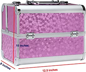 Say Professional Hard Aluminum Cosmetic Case