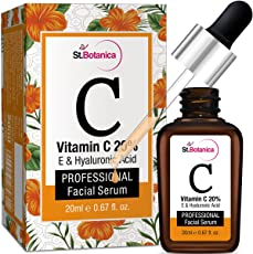 StBotanica Vitamin C 20% Vitamin E and Hyaluronic Acid Fairness Brightening Facial Serum - 20 ml