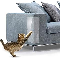 FOONEE Katzen-Kratzschutz Kratzschutz mit 10 Pins zum Schutz Ihrer Polstermöbel 2er Set