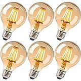 Ampoules Edison vintage E27 4 W - Ampoule rétro vintage antique - Industriel Deco Idéal pour éclairage nostalgique et rétro d