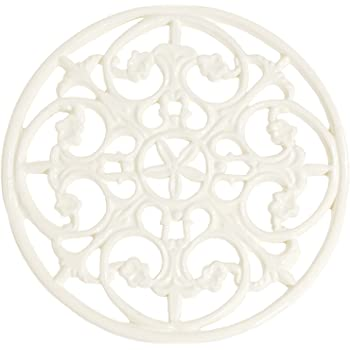 French Kitchen Collection Trivet Large Ivory