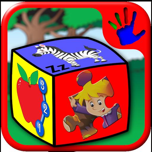Vorschule ABC Zahl und Buchstaben-Puzzle-Spiele - lehrt junge Kinder Alphabet zählen und Jigsaw Formen geeignet für Kinder im Kleinkind Alter 2 Jahre und höher - Karte Combo
