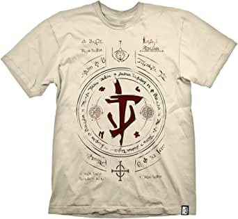 DOOM Eternal - Slayer Symbol Uomo T-Shirt Beige Regular