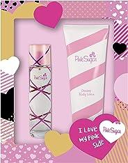 AQUOLINA PINK SUGAR Pink Sugar Eau De Toilette Spray, 100 ml + Body Lotion, 250 ml Set For Women