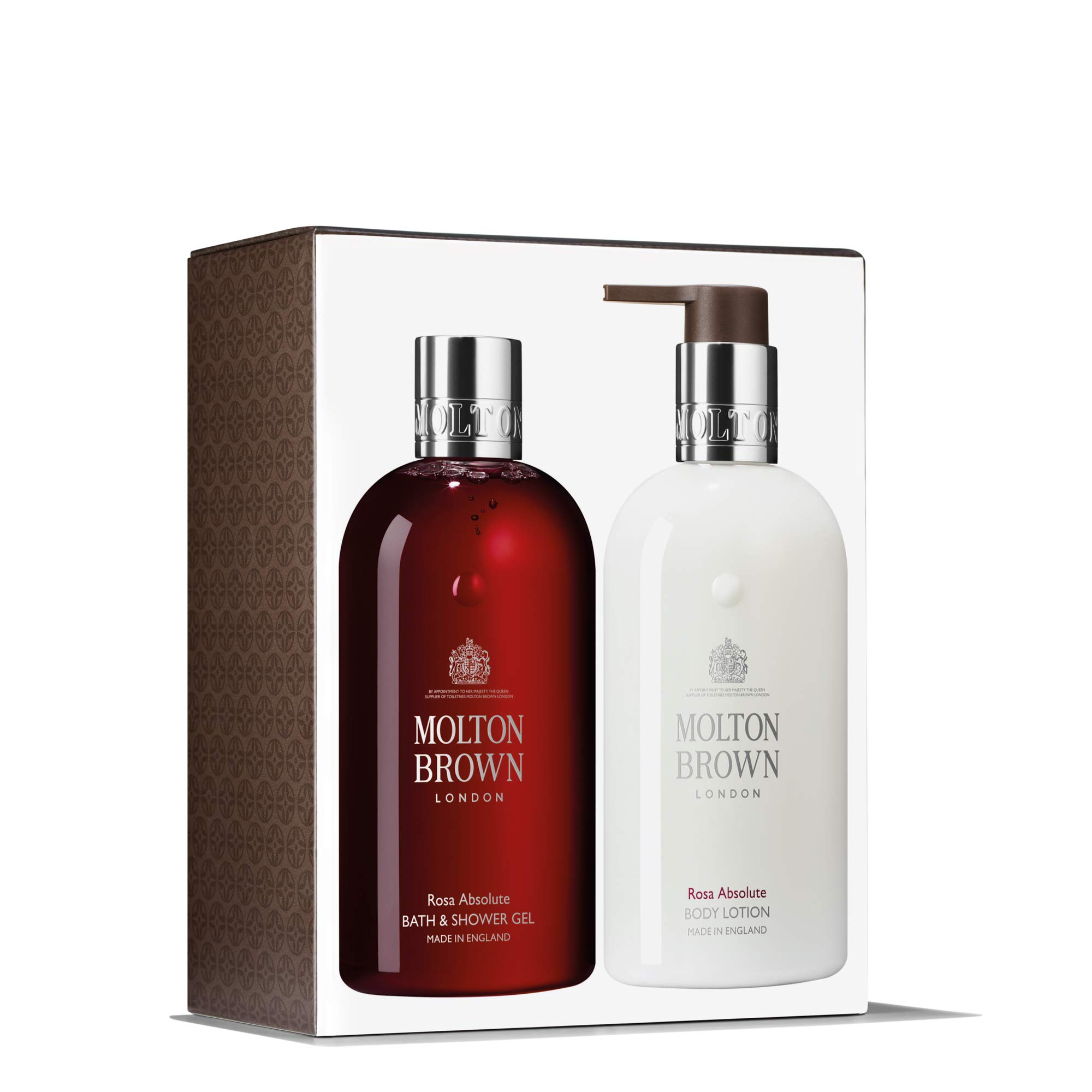 Molton Brown Rosa Absolute Bath & Body Gift Set (2 x 300ml)