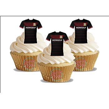 10 Geburtstags Madchen Rosa Mix 12 Essbare Standup Kuchen Deko