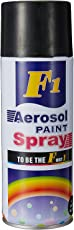 F22 F1 Aerosol Multi Purpose Spray Paint (Black Shine)