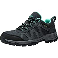 riemot Fully Waterproof Walking Shoes Mens Womens,Ladies Summer Trainers for Outdoor Hiking Trekking Climbing,Trail…