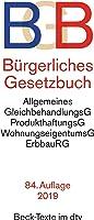 Bürgerliches Gesetzbuch BGB: mit Allgemeinem Gleichbehandlungsgesetz, Produkthaftungsgesetz, Unterlassungsklagengesetz,...