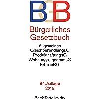 Bürgerliches Gesetzbuch BGB: mit Allgemeinem Gleichbehandlungsgesetz, Produkthaftungsgesetz, Unterlassungsklagengesetz…