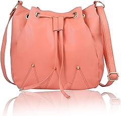 Women Marks Women's Sling Bag (Peach)