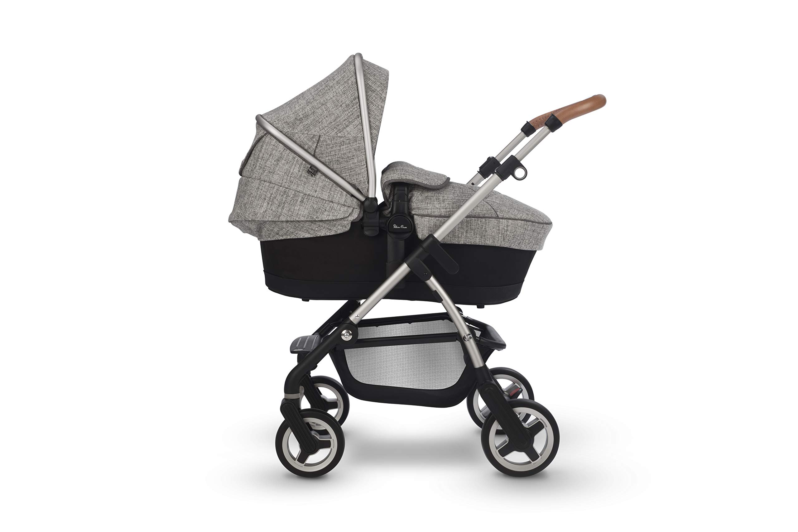 Silver Cross Wayfarer Camden Silver Cross Complete pram system that includes everything you need from birth to toddler Includes a lie-flat carrycot for your new born that is suitable for overnight sleeping Compact, lightweight and convenient, hardwearing and durable 2