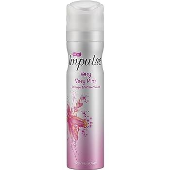 d26ab267b6 6 x Impulse Body Fragrance Body Spray 75ml Tease  Amazon.co.uk  Beauty