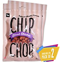 Chip Chops Dog Treat Diced Chicken, 140g, Optimum Health Formula (Pack of 2)