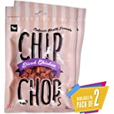 Chip Chops Dog Treat Diced Chicken, 140g, Optimum Health Formula (Pack of 2)