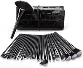 Pennelli Make Up USpicy Kit 32 pezzi Pennelli Cosmetici Trucco spazzola professionale. Brushs per Ombretto, Alta Qualità, Make Up Set con borsetta da viaggio, Regalo