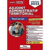 Concours Adjoint administratif territorial - Catégorie C - Tout-en-un: Concours externe, interne, 3e voie, examen…