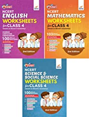 Perfect Genius NCERT English, Mathematics, Science & Social Science Worksheets for Class 4 (based on Bloom's taxonomy) 2nd Edition