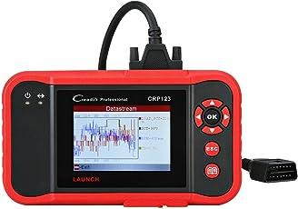 Launch CRP123OBD2Reader, X431Auto Scanner, Diagnosegerät für Lesen Live Daten und Fahrzeug von SRS Motor ABS Fault Codes