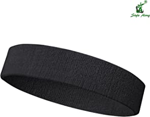 Style Along Black Sports Small Size Headband For ( 12 To 18 ) Age Group Boys And Girls