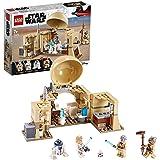 LEGO 75270 StarWars Lacabaned'Obi-Wan, Premier Set Star Wars pour Les Plus de 7 Ans avec Les héros Obi-Wan Kenobi, Luke Sk