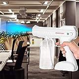 Disinfectant Steam Gun, Handheld Nano Atomizer, 800ML Wireless Charging ULV Sprayer, for Home, Office, School Or Garden, 110~