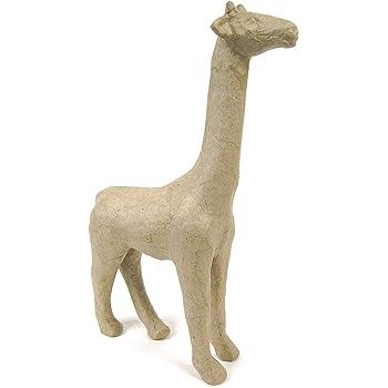 16cm Tall Paper Mache Giraffe for Decopatch Crafts