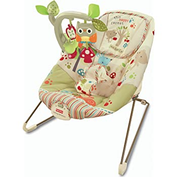 e20e02633 Fisher-Price CJN00 Rainforest New-Born Baby Bouncer