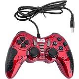 Mando Gaming Gamepad Rii GP500 con cable para PC Windows 98 XP 7 8 10 Juegos Playstation 3 STEAM. USB. ( Botones TURB 12 FIRE