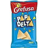 Grefusa - Papadelta Original | Producto de Aperitivo Frito con Sabor a Jamón - 73 gr
