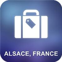 Elsass, Frankreich Offline Map