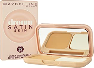 Maybelline New York Dream Satin Two-Way Cake SPF 32/PA+++, B4 Caramel, 9g
