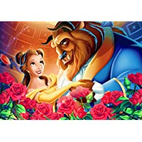 yeeatz Jigsaw Puzzles for Kids Adults Floor Puzzle Beauty -and -The Beast Intellectual Decompression Toys Games Puzzles…