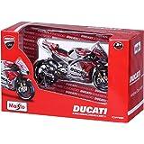 Maisto-Ducati Desmosedici GP en Escala 1/18 de Andrea Dovizioso #4 34593, Color